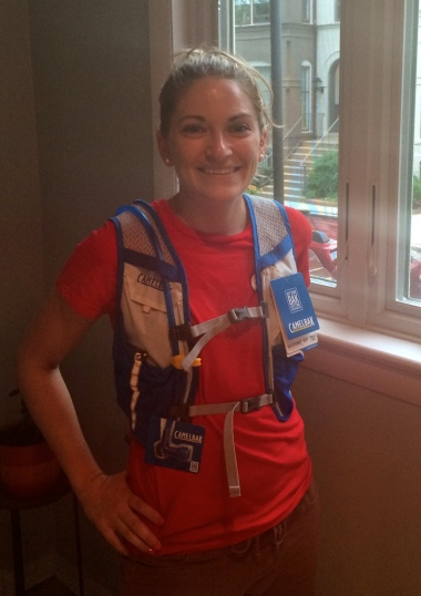 Me and my new CamelBak Marathoner!